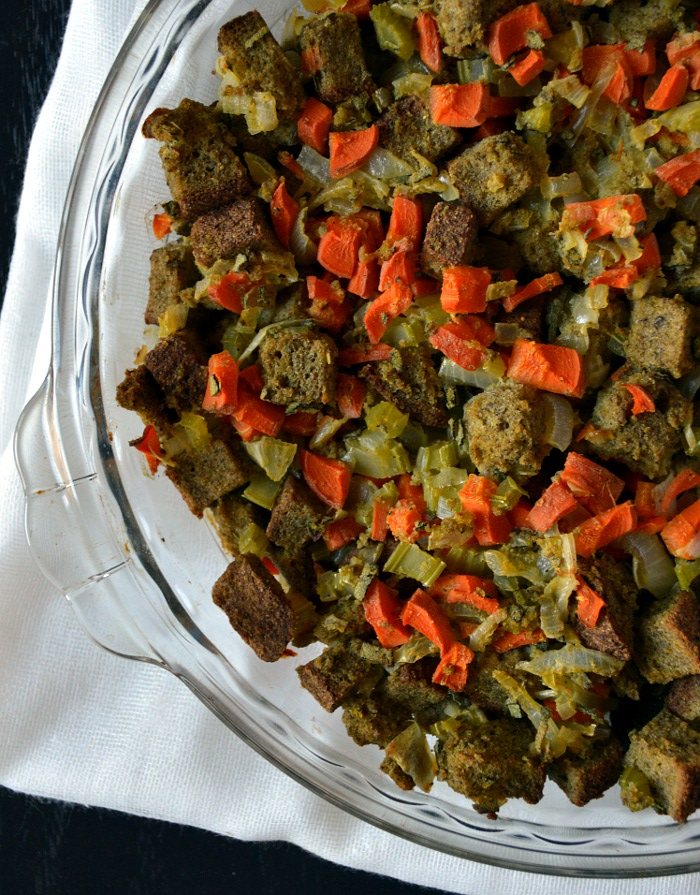 Gluten-Free and Dairy-free Stuffing