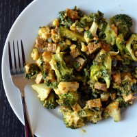 Mixed Tempeh Scramble