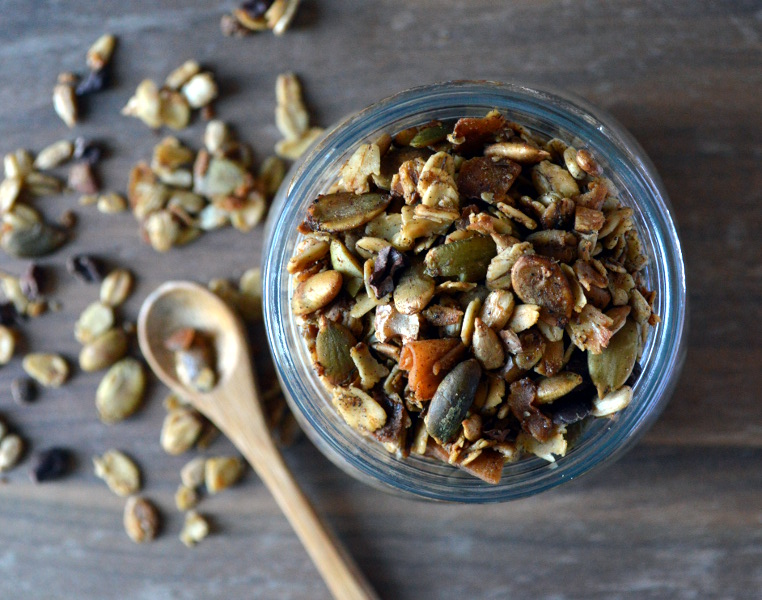 Gluten-free and vegan granola