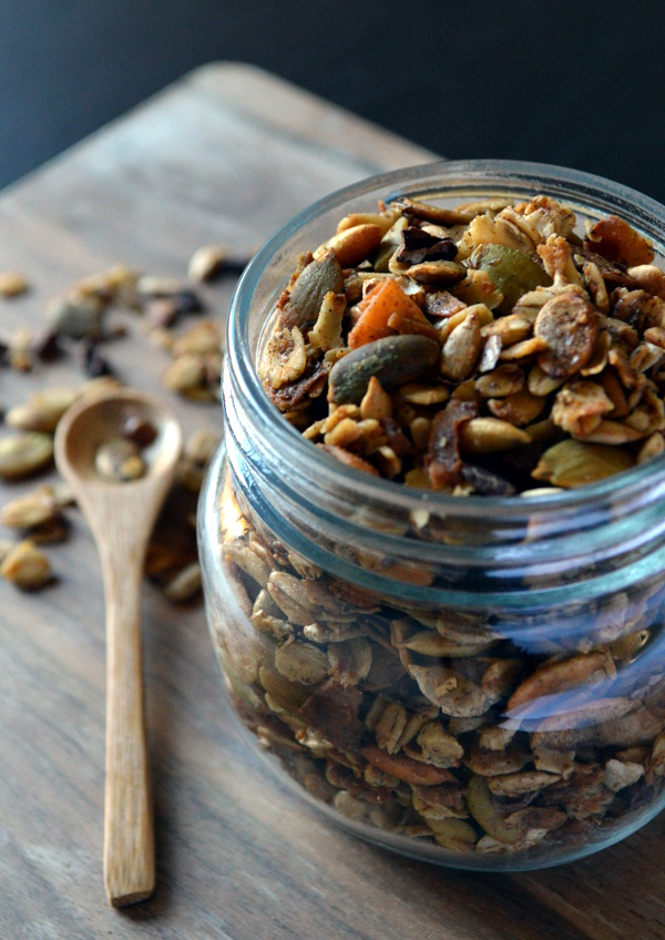 Healthy Gluten-free and vegan granola