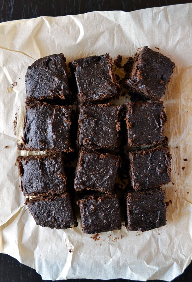 Gluten-Free Prune Chocolate Brownies