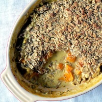 Vegan Butternut Squash Crumble