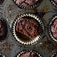 Gluten-Free Double Chocolate Chip Muffins