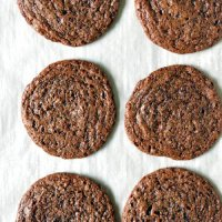 3-Ingredient Cookies - Salted Dark Chocolate Sunbutter